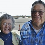Residents Bill and Beverly Fann recall the numerous times that they departed from the downtown Kansas City Airport when it was used for regular commercial flights, which it is still used today for small commercial planes, private flights, presidential trips by Air force 1, and football Sundays for appearances by the Good Year Blimp.