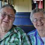 Residents Bill and Beverly Fann enjoyed the day out together.