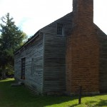The 1800's cabin was the residents favorite. Some of the residents could remember going to grandparent's houses who lived in this era of cabin. Things sure have changed the residents agreed. Resident Helen Lohss said,