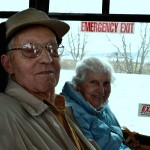 Residents Hazel and Moras Soetart enjoyed their first time seeing the assortment of water fowl.