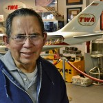 Resident Lionel Aguilar spent over 30 years in the Business Office of TWA's headquarters in Kansas City. He enjoyed his trip down memory lane recalling the old TWA commercials and the exclusive TWA blue chip flights!