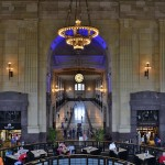 Got to be one of the best view points of Union Station. It encapsulates the heart of the building as enjoyed by visitors with all the variety of cultural activities to do. As resident Bill Fann put it,