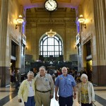 A Union Station visit couldn't be complete without a picture under the infamous Union Station Clock. Check that off of our visitors guide!