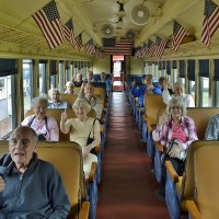 Greenbriar Group on Train-Belton RR-2015