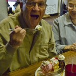 Resident Ralph Ireland got the most delicious banana split that he says he's ever had, and we would have to agree with him!