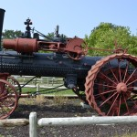 1880's steam powered tractor.