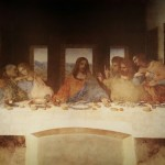 The most notable da Vinci painting, the Last Supper of Jesus Christ.