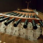 The multi-functional cannon was a novel idea for the Italian army. Many of these ideas were sold to the Italian army to fund da Vinci's passions, which was his art.
