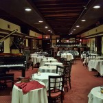 The jazz room in the basement of the Majestic Steakhouse, and location of the original speak easy.
