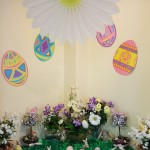 We turned our MPR into a springtime oasis for the Easter egg hunt!