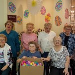 The gang joyfully stuffed 1,300 eggs for some very happy children this year! :)