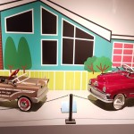 Beginning of the pedal car exhibit introduces us to the hay-day of the peddle car era...1940's & 1950's!