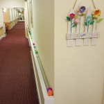 We also utilized some unique places in the halls to hide the eggs too!
