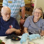 Bob and Barbara Tice never miss out on an opportunity to spend the afternoon with the kids.