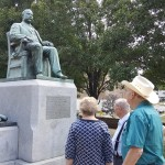 The group found the James Pendergast statue that was erected by notorious politico, Boss Tom Pendergast, which to no surprise the statue was funded entirely by tax payers money! Just another blip on Kansas Cities nefarious history in the 1920's.