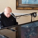 Resident Bill Harkins plays a lovely set of jazz tunes and some old Rat Pack staples for the residents in Friday's Happy Hour...which this Friday favorite has become a great tradition for many of the residents! Thanks for tickling those ivories Bill!