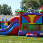 Castle bounce house was a blast!