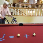 Gene Wade was thrilled to see the pool ball equation for the pool table riddle!