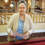 Puzzle and riddles are Mary Louise Taylor's delight. She is a fan of word puzzles and plays Scrabble with residents into the wee hours of the morning. Her skills proved useful to sharpen her precision for answering these questions too!