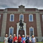 The Residents at the General Andrew Jackson Statue commemorating Jackson's Battle of New Orleans in the war of 1812 during the British attempted second invasion. Jackson would eventually go on to become the President of the United State, and affectionately the name of the county where Independence resides.
